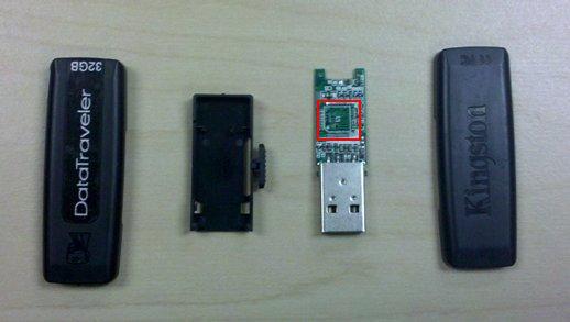 Anatomy of a bargain flash drive